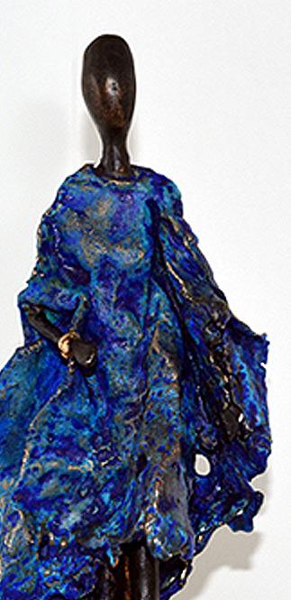 bronze bleu