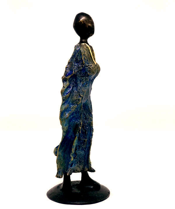 Balade au vent - Bronze Magali Willems -