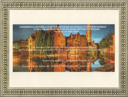 invitation Bruges 2020